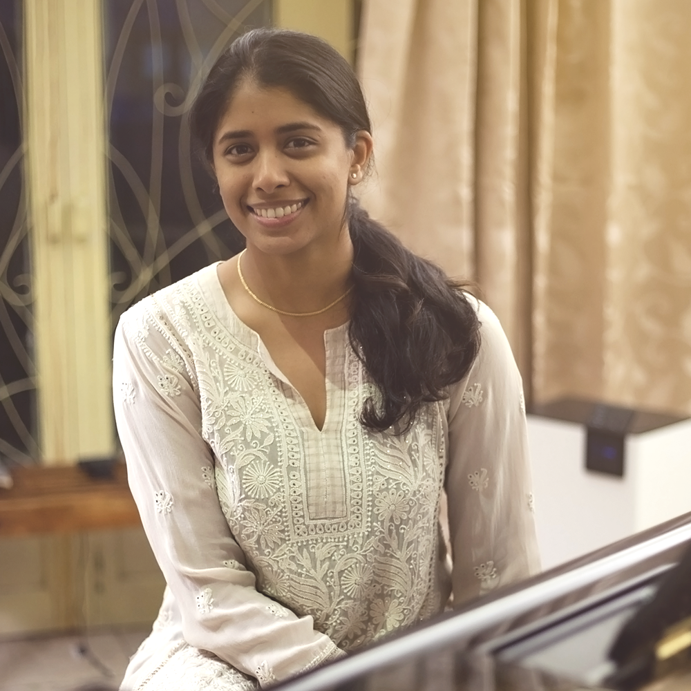 Shruthi Kurien   I'm a professional athlete and aspiring musician. My calling to SOTA was a desire to bring artists of the highest level to Hyderabad and inspire folks from all walks of life. Music is something that speaks to an entire spectrum of people and revitalises the human spirit. Through SOTA, we hope to create a stronger awareness, love and appreciation for this medium and the incredible literature of classical music. I contribute to the team through my roles in logistics, HR, finance, and strategy.