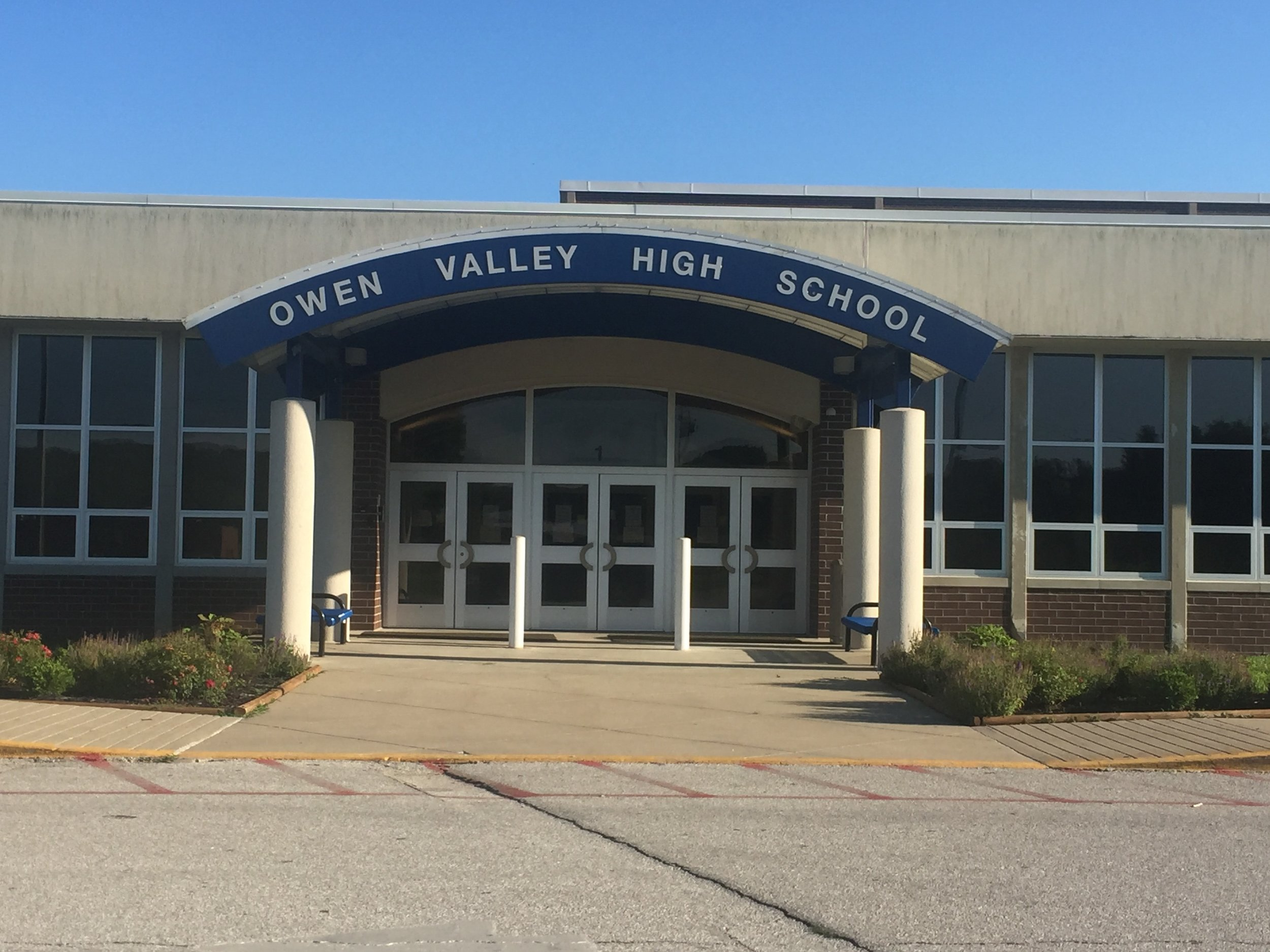 Owen Valley Alumni Scholarship- school building.jpg