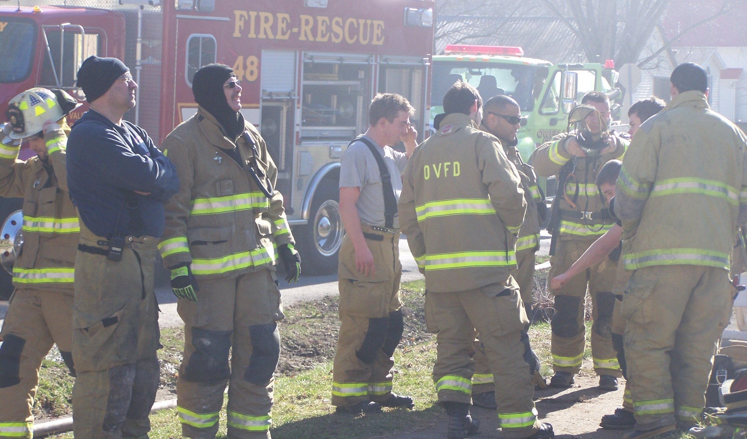 2013 Grant to provide training to Owen Valley Volunteer Fire Department