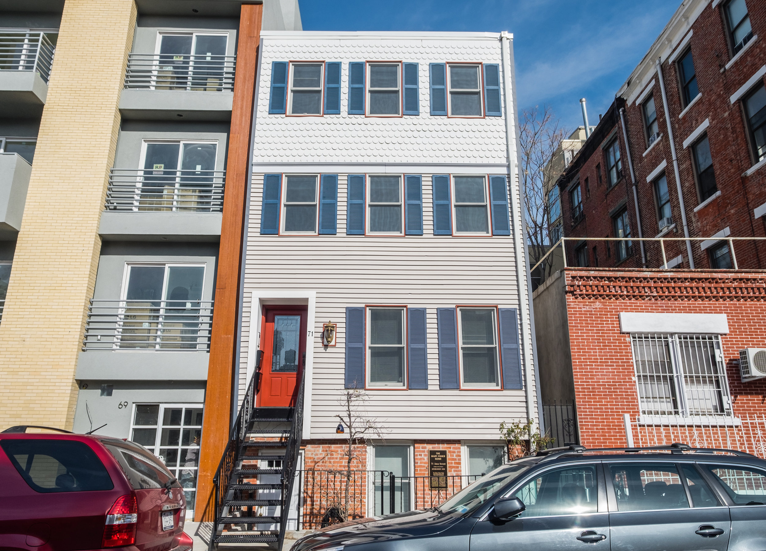 71 Java St, 2-Family Townhouse   Greenpoint, Brooklyn   $2,100,000  5 Beds | 4.5 Baths | 2,280 SF