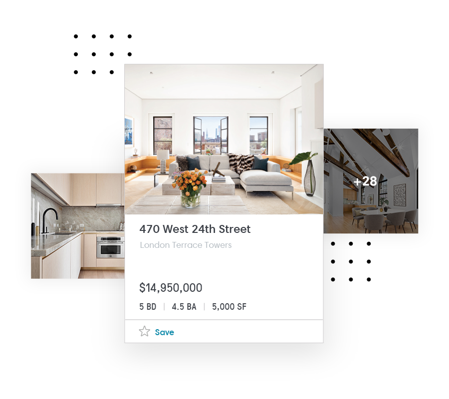 1. Organize - Keep track of the homes you like and save them in one place.