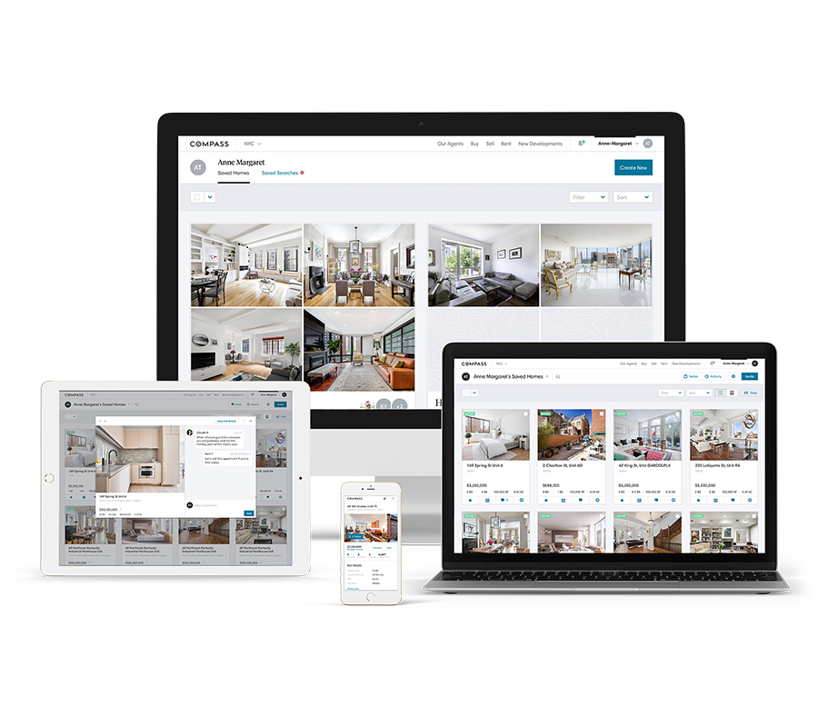 5. Get Started - Collections is a curated visual workspace where we can easily organize the homes you want to see and discuss them together.