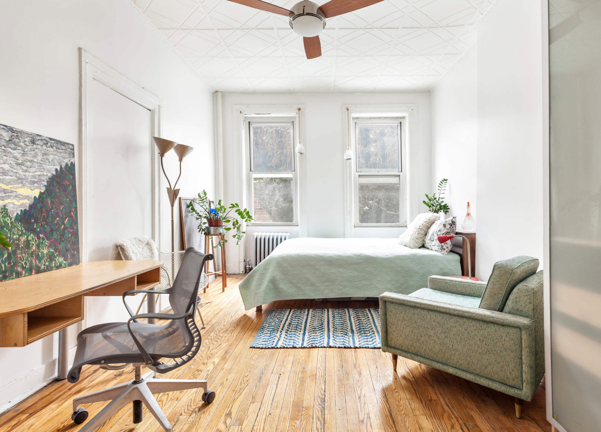 617 Vanderbilt Ave   , Unit 3  Prospect Heights, Brooklyn   $899,000  2 Beds | 1 Baths | 1,035 SF