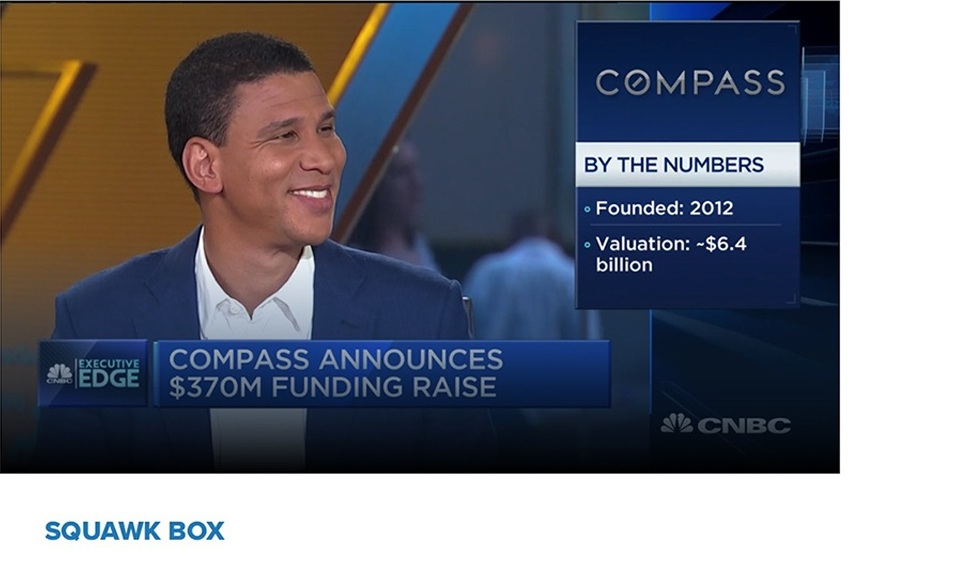 Series G $6.4B Valuation - Real estate firm Compass announces $370 million in new funding from Softbank and Dragoneer. Robert Reffkin, CEO and founder of Compass, joins 'Squawk Box' to discuss.