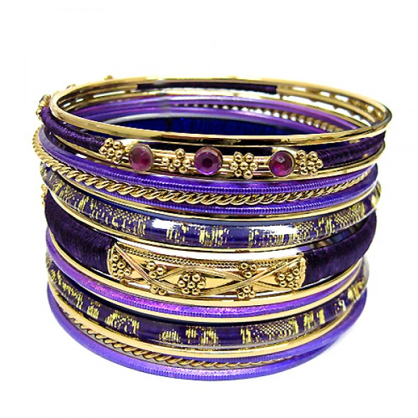 plus-size-vb17290-purple-cotton-string-wrapped-with-plastic-and-gold-metal-bangles-set-of-18pcs_12.jpg