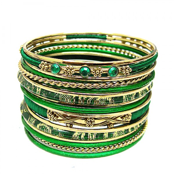 vb17290-green-cotton-string-wrapped-with-plastic-and-gold-metal-bangles-set-of-18pcs_12.jpg