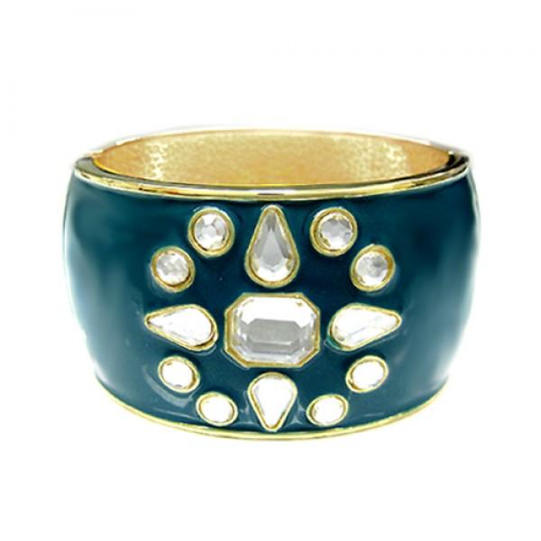 clear-rhinestone-snow-flower-teal-enamel-hinged-bracelet_12.jpg