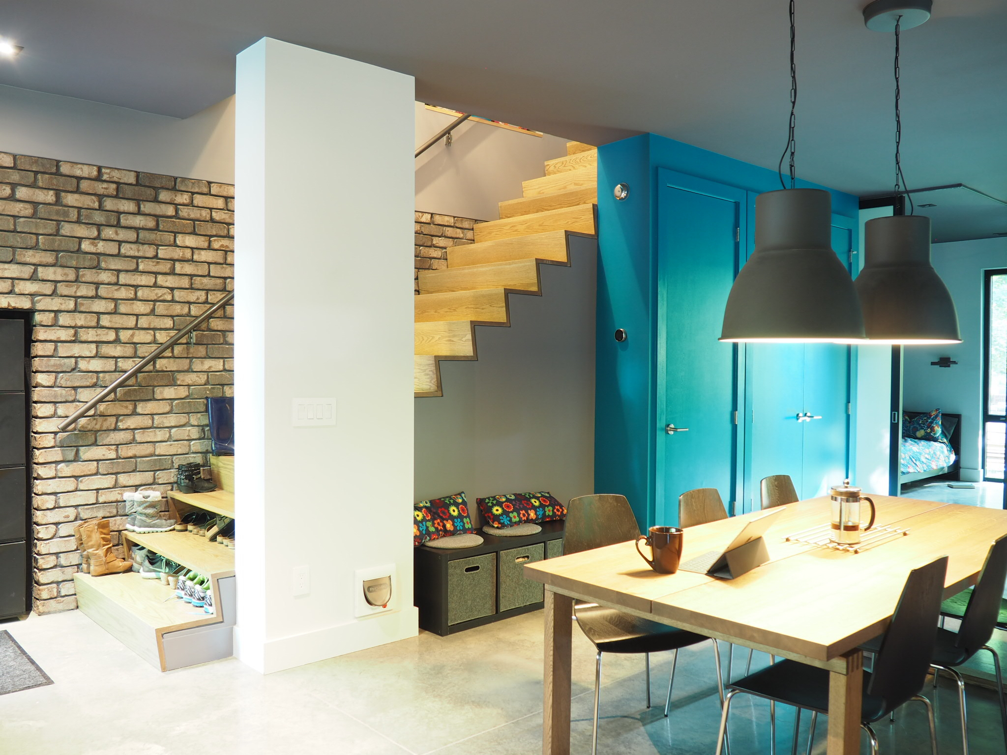 modern residential real estate - cool interiors