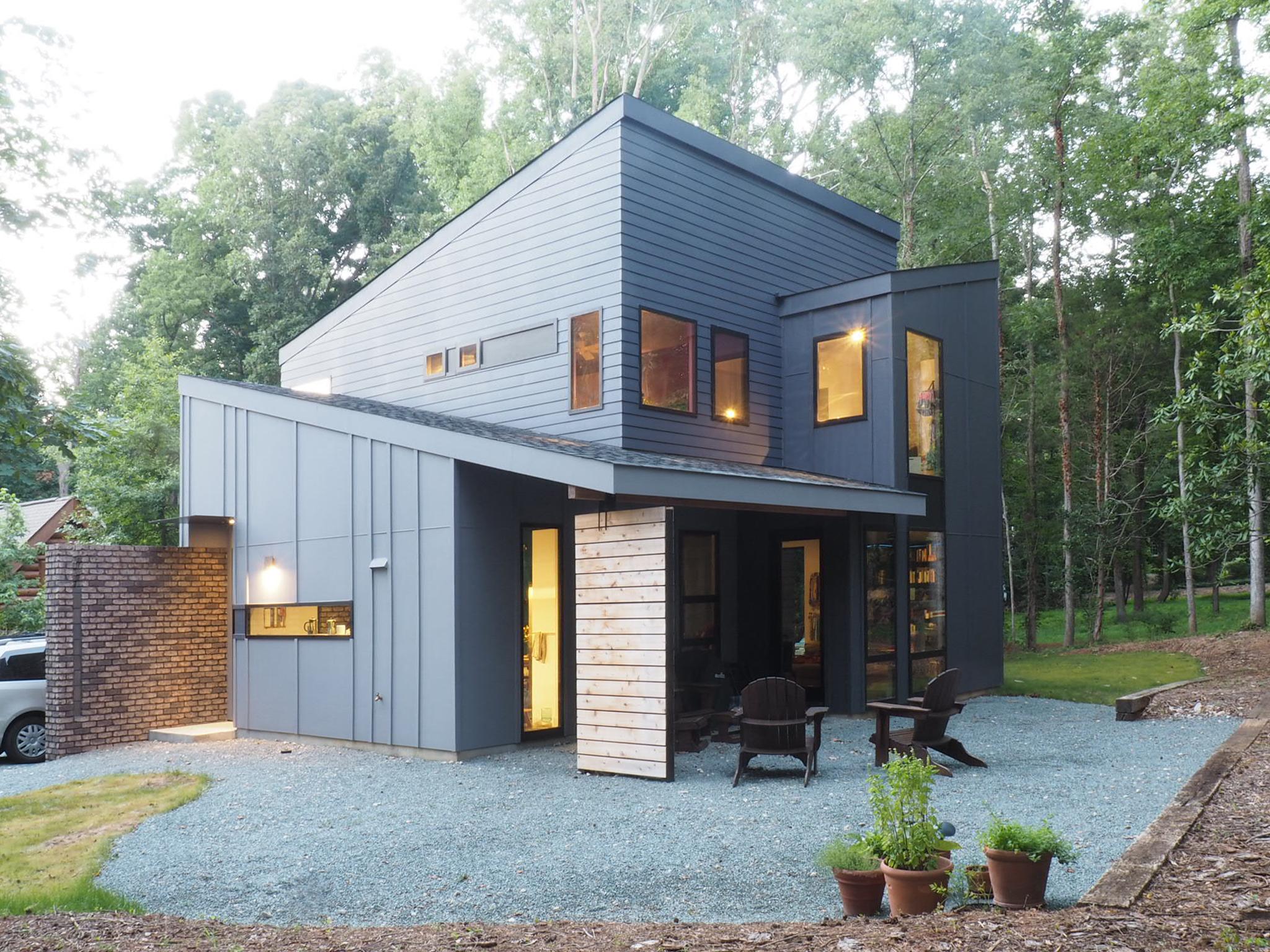 modern home in Charlotte, NC