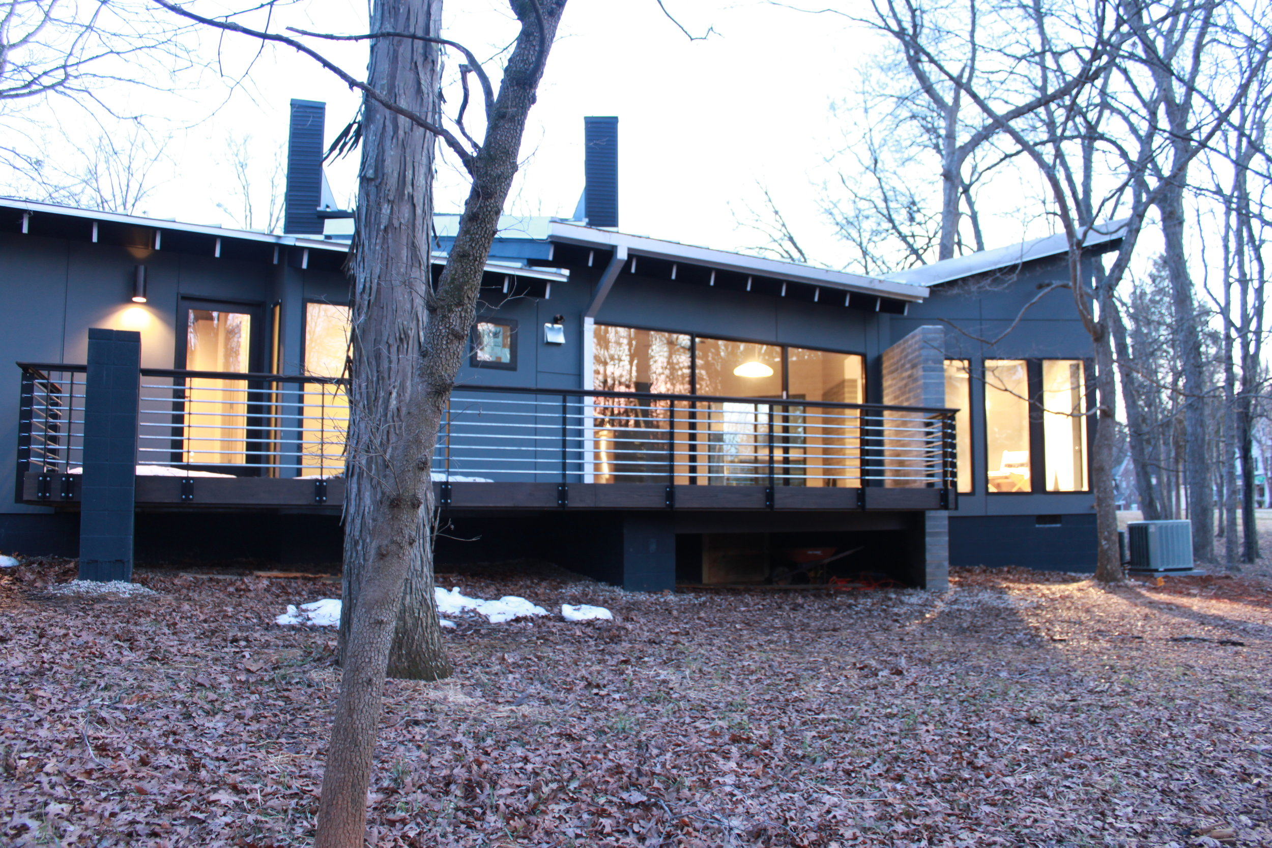 Woung Residence - a modern home in Charlotte