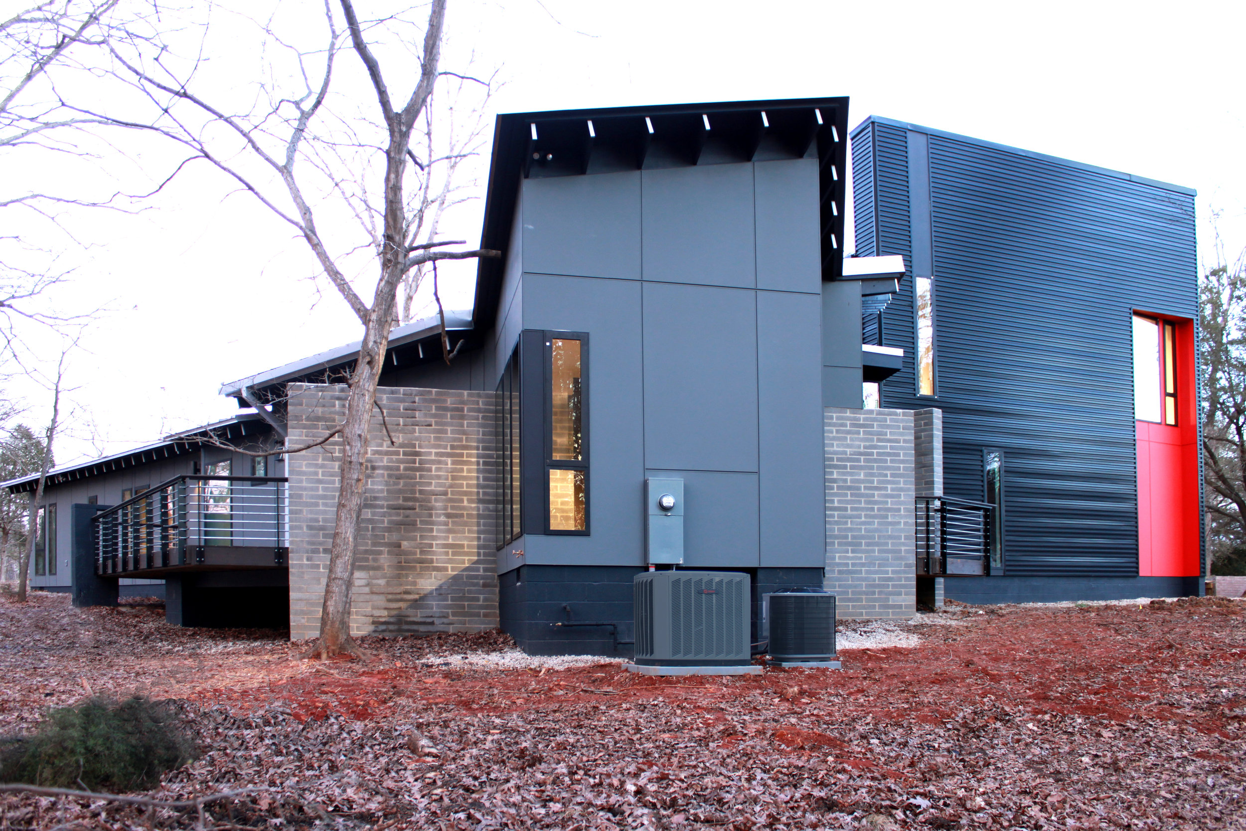 contemporary house charlotte nc