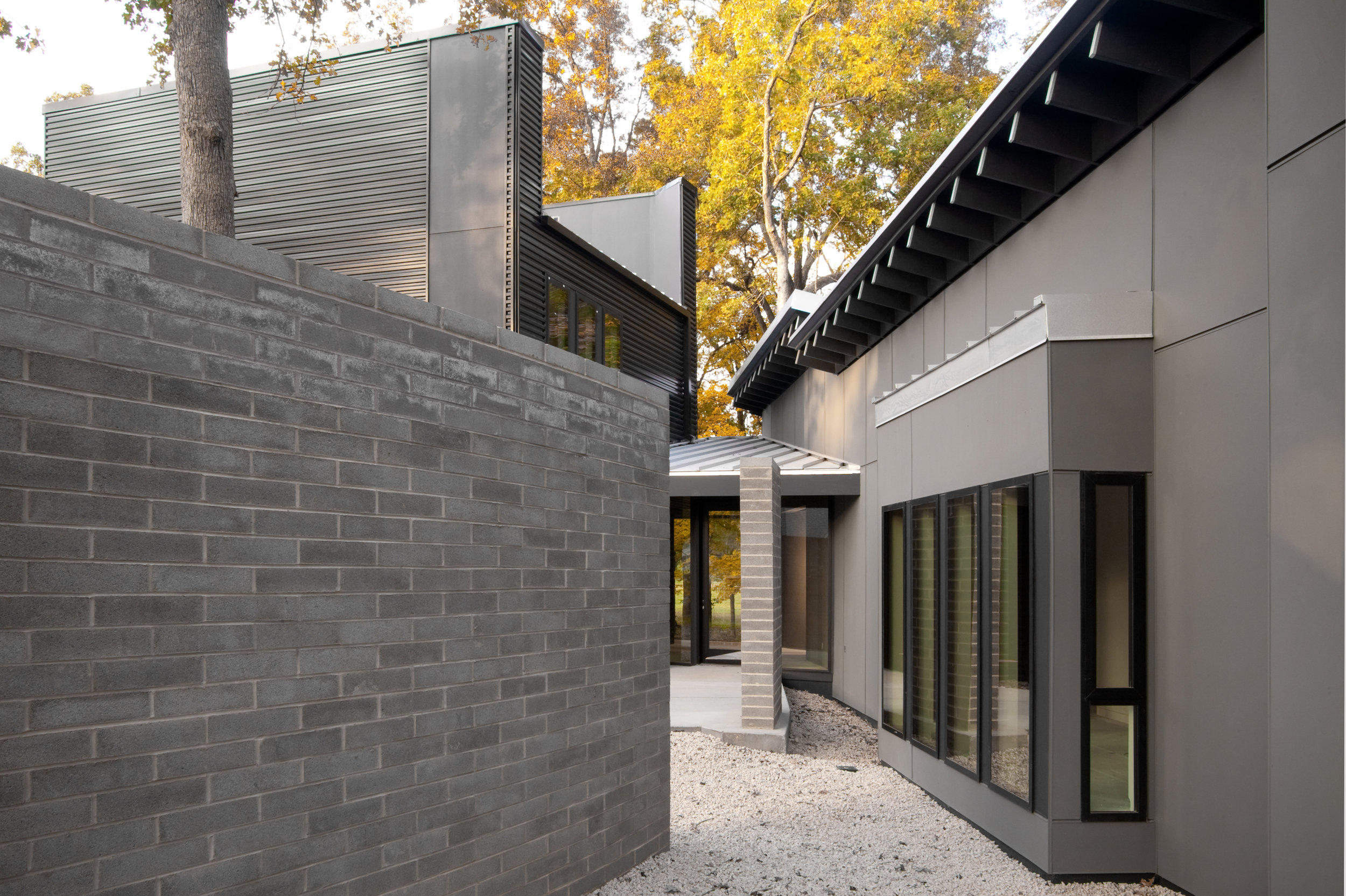 modern architecture charlotte nc cube black glass entry