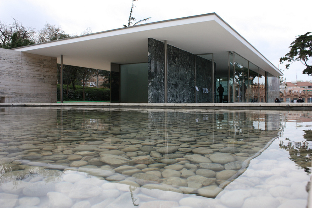 Mies van der Rohe Barcelona Pavilion 1