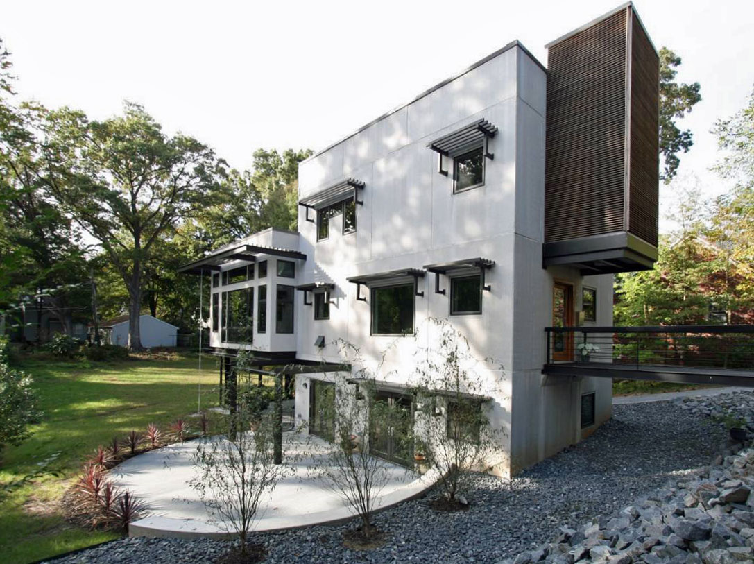 Midwood Concrete - Stan Russel (Design), Jim Warren (Build), 2008