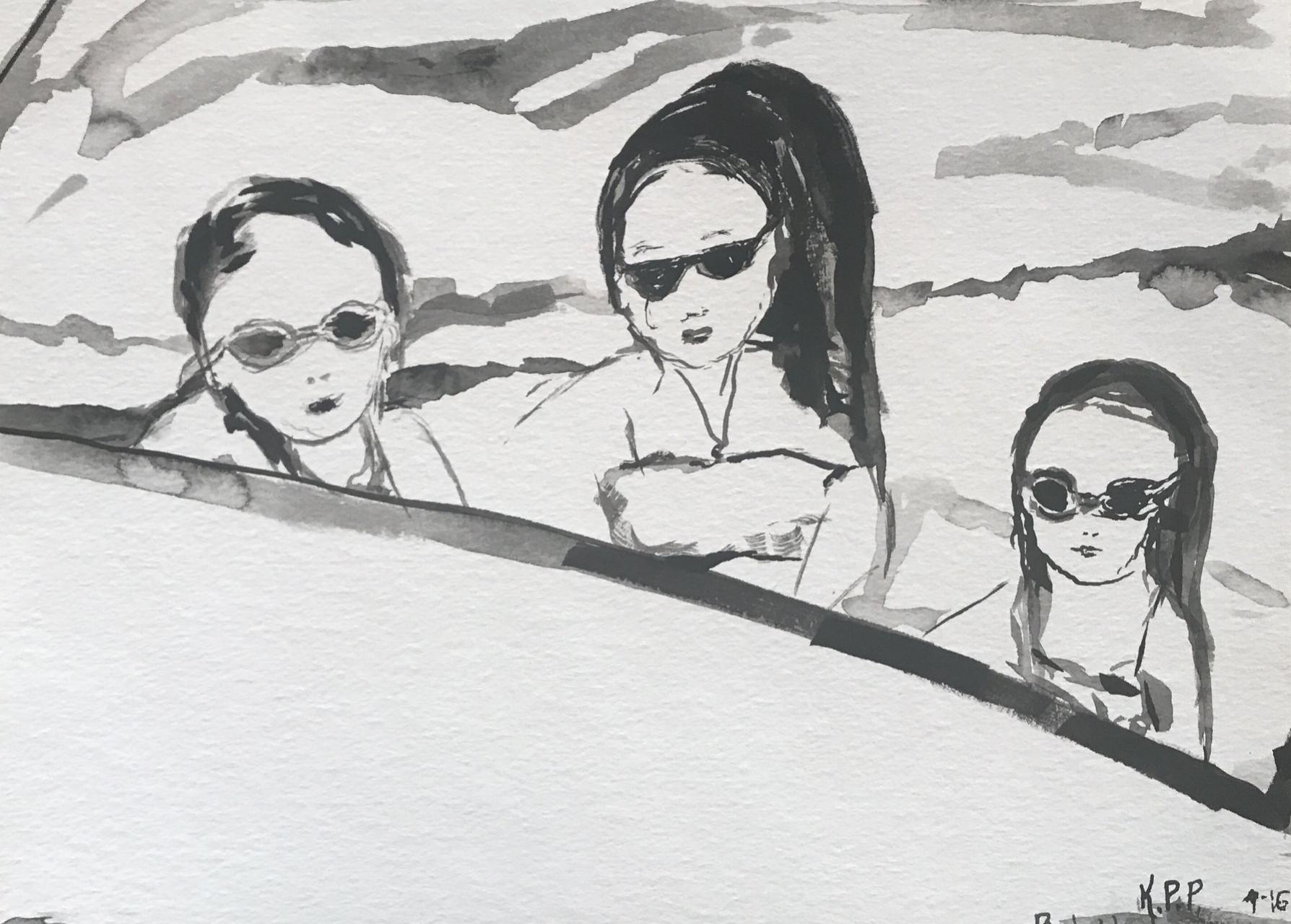 Copy of Rub a Dub Dub, Three Girls in a Tub