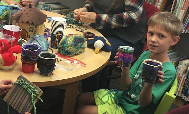 Native American Crafting at the Library