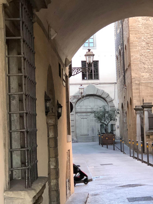 Italian city scenery