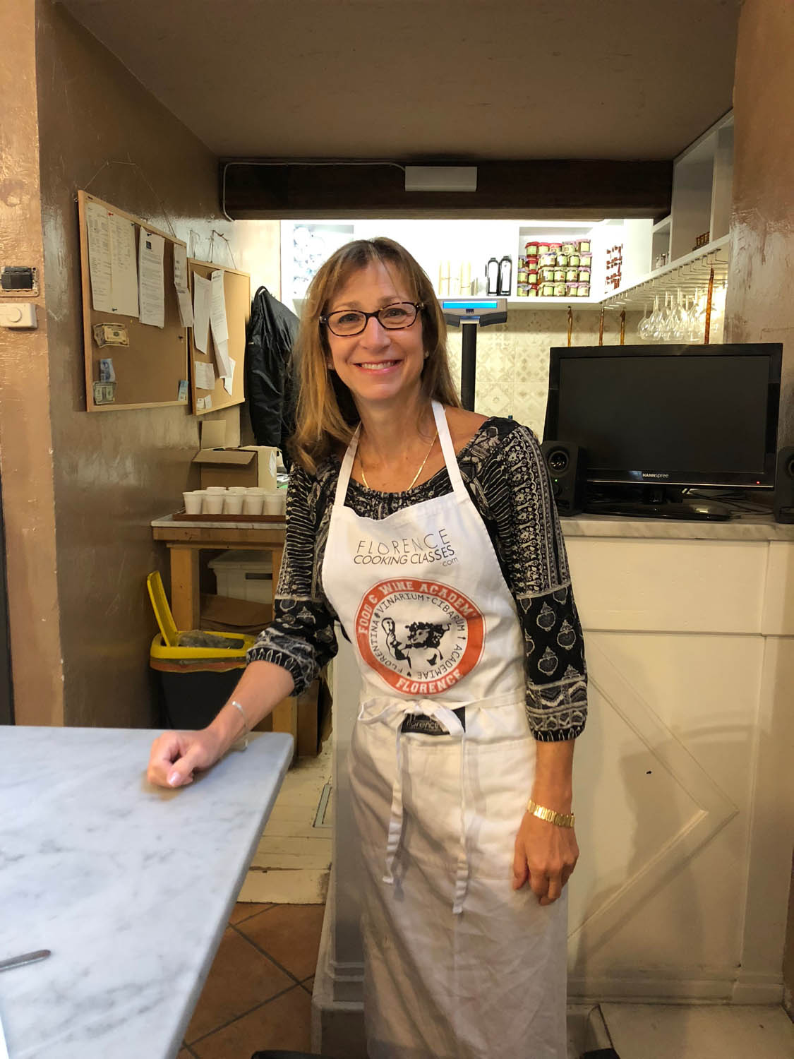 Copy of Ashley at a cooking class in Italy