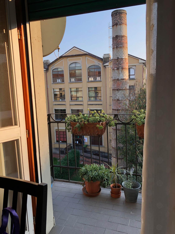 Terrace in Milan, Ital