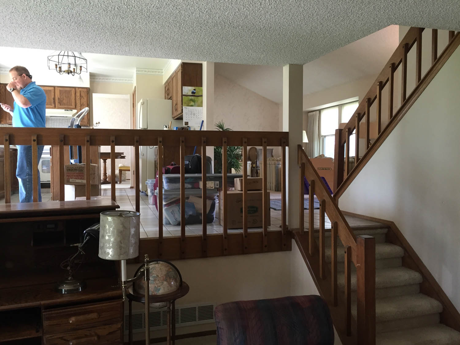Home remodel before view