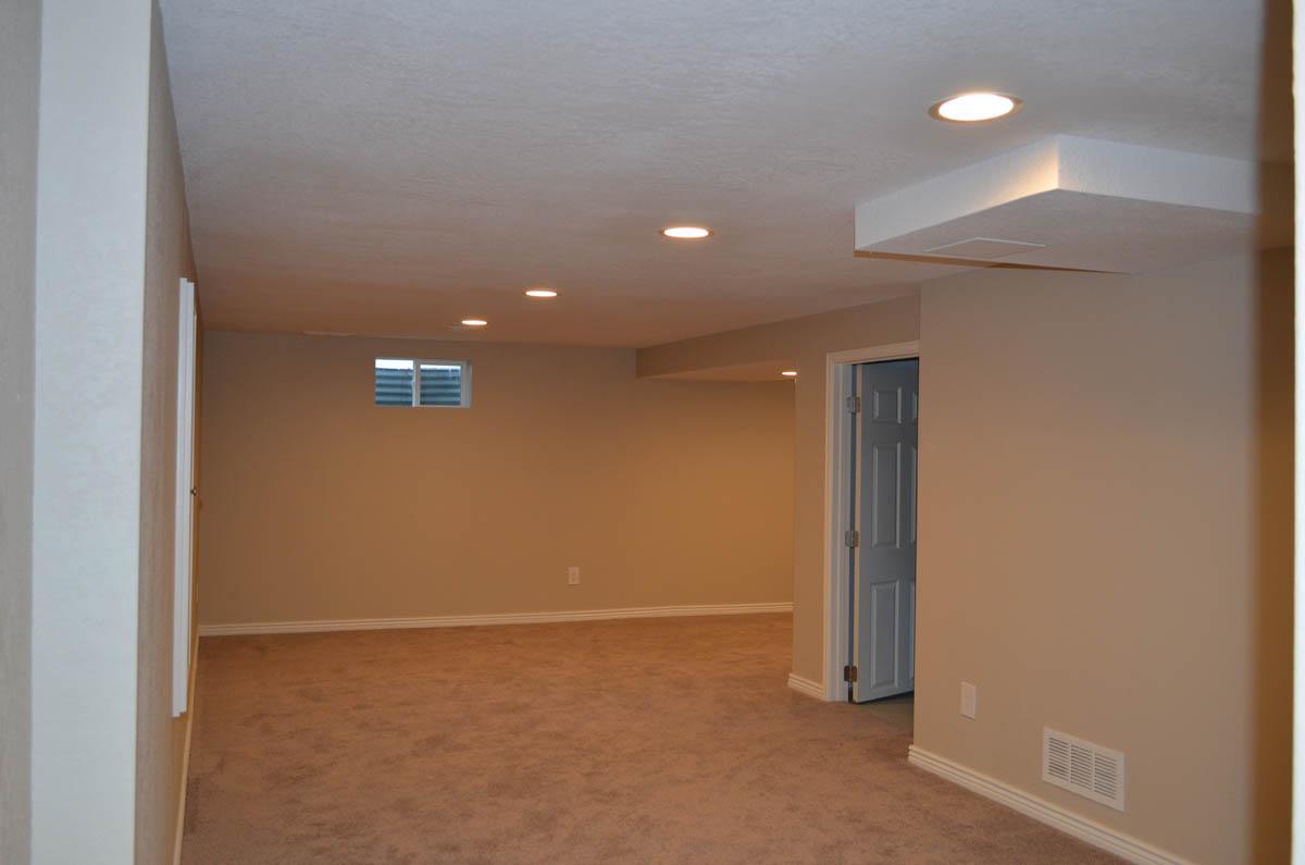 basement after remodel