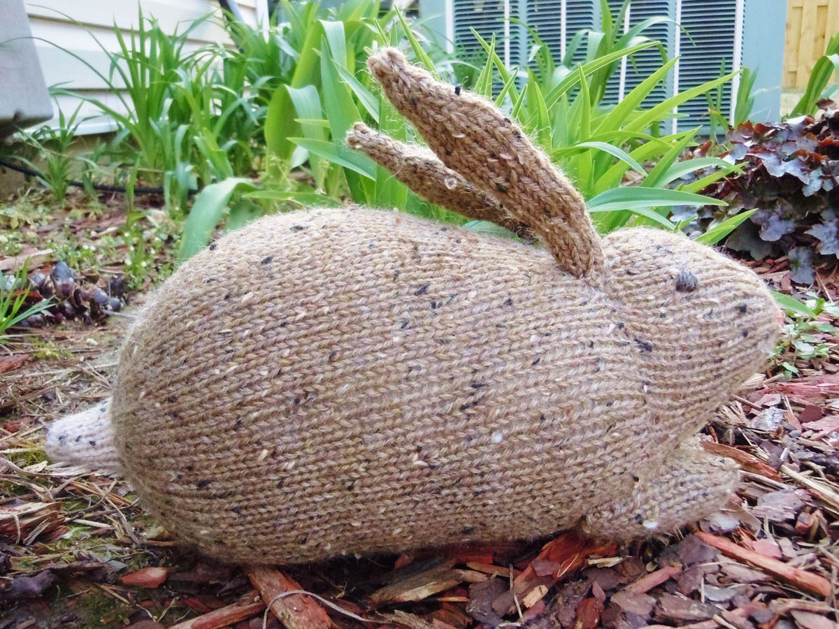Henry's rabbit, featuring Knit Picks Wool of the Andes