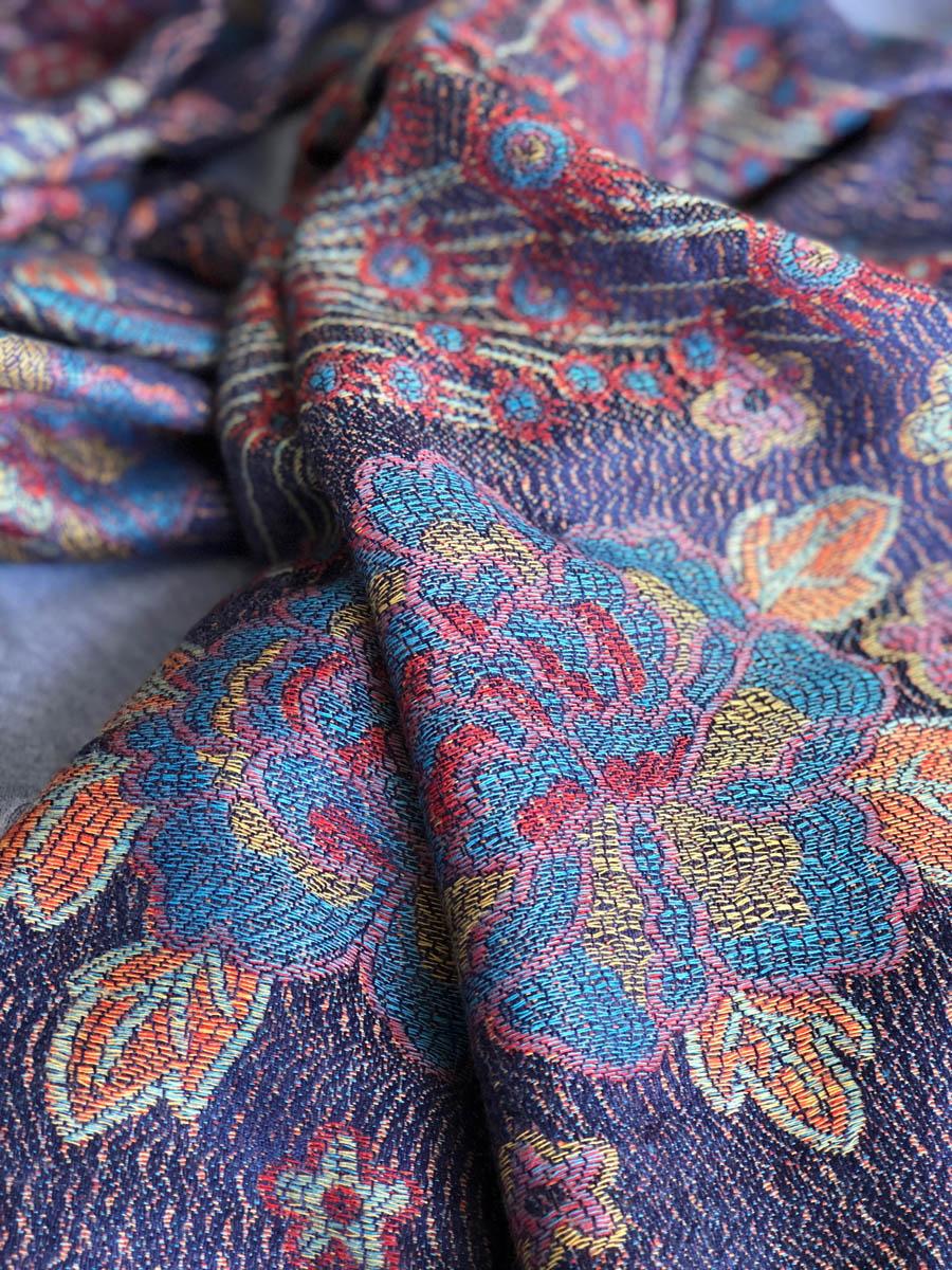 San Miguel de Allende scarf detail