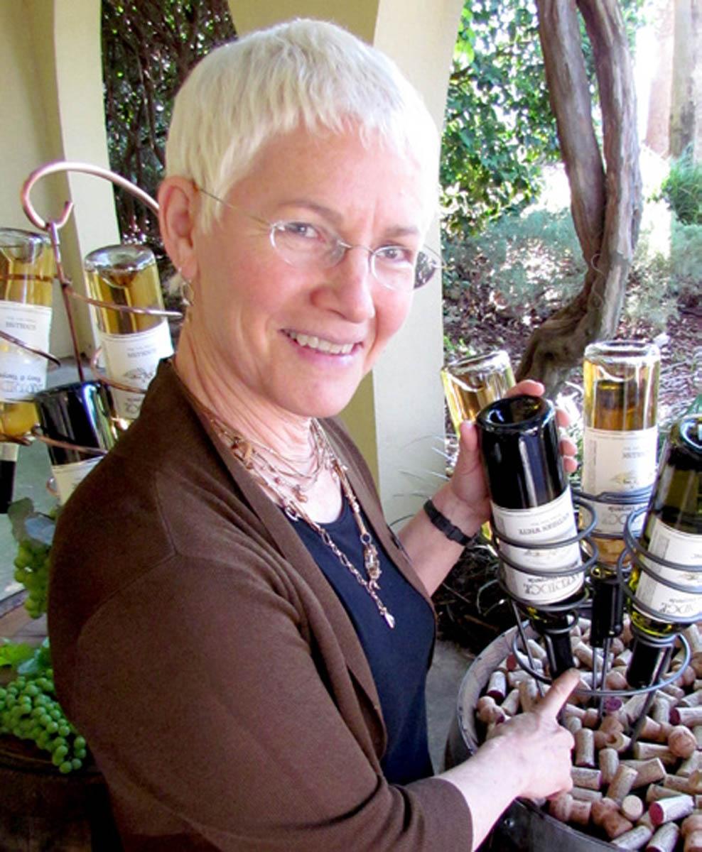 Jeanne Burgess, winemaker at Florida wineries