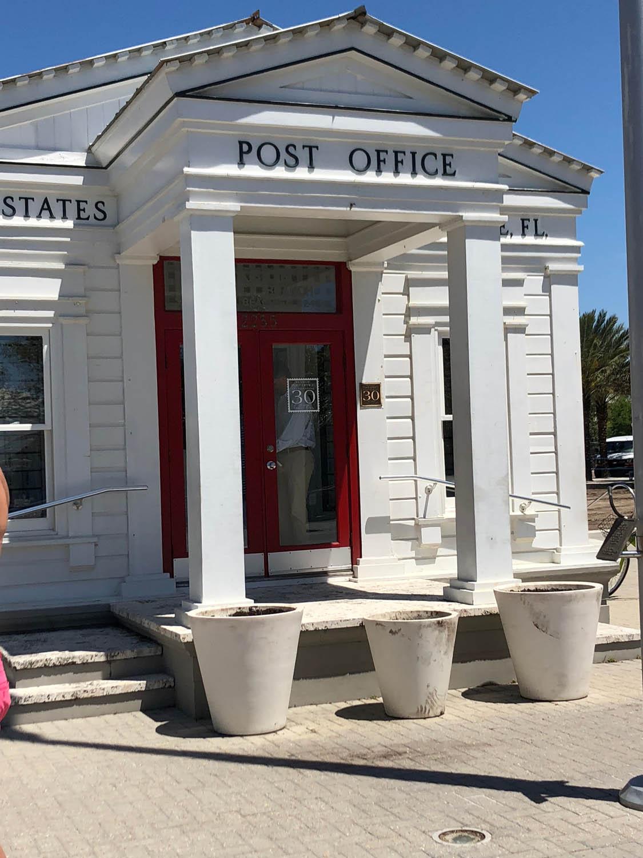 Seaside, Florida post office