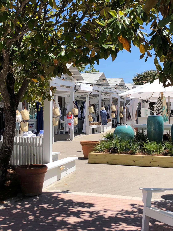 Open air shops of Seaside, Florida