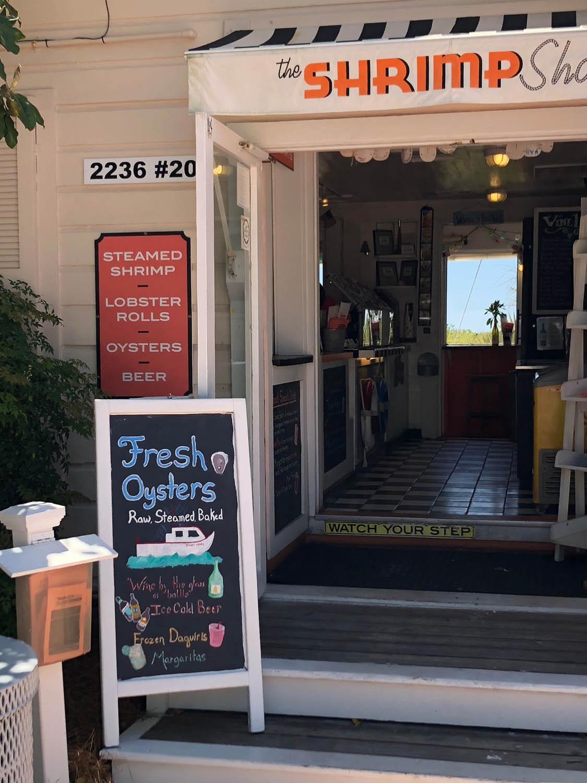 The Shrimp Shop restaurant in Grayton Beach, Florida