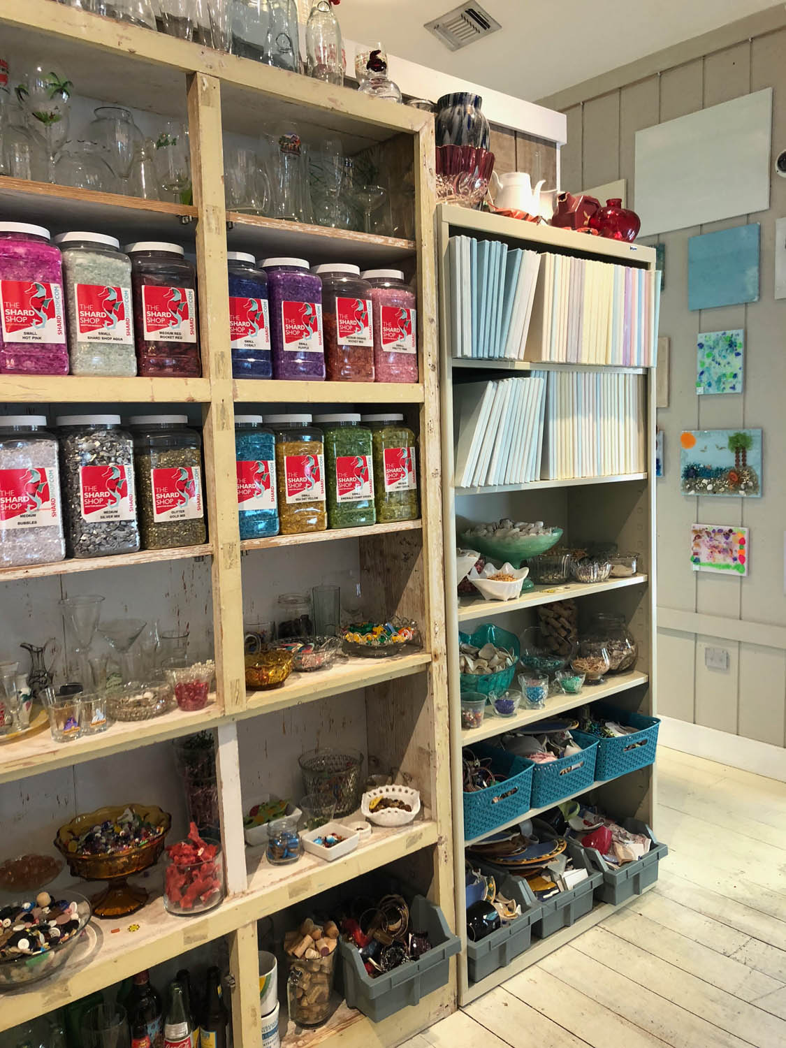 Products for sale at The Shard Shop