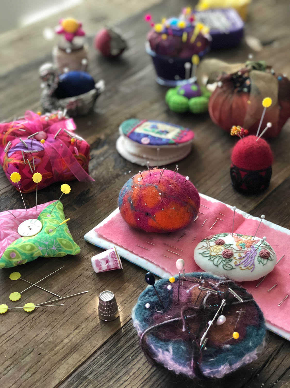 pincushion collection