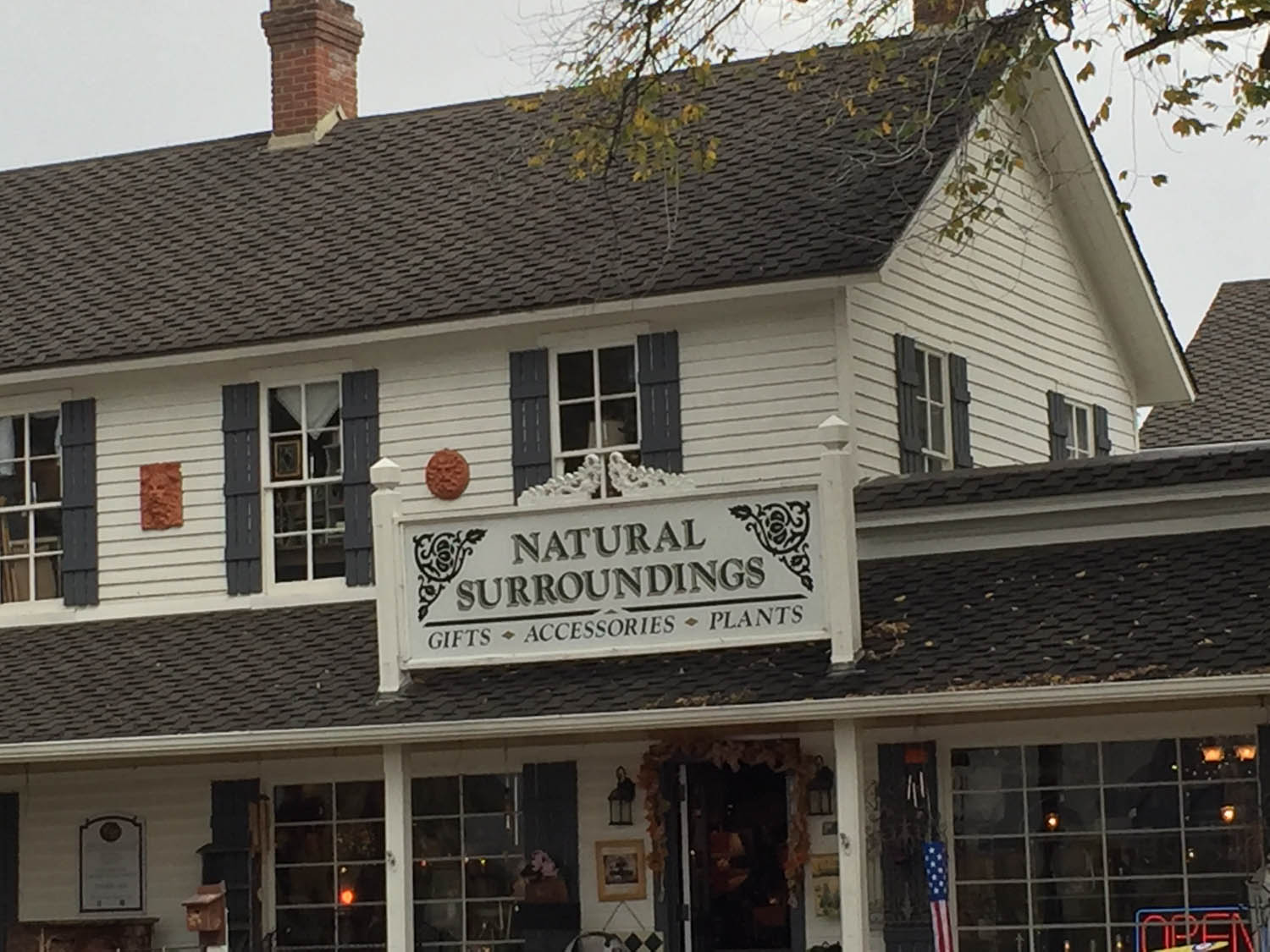 Natural Surroundings store in historic old downtown Littleton, CO