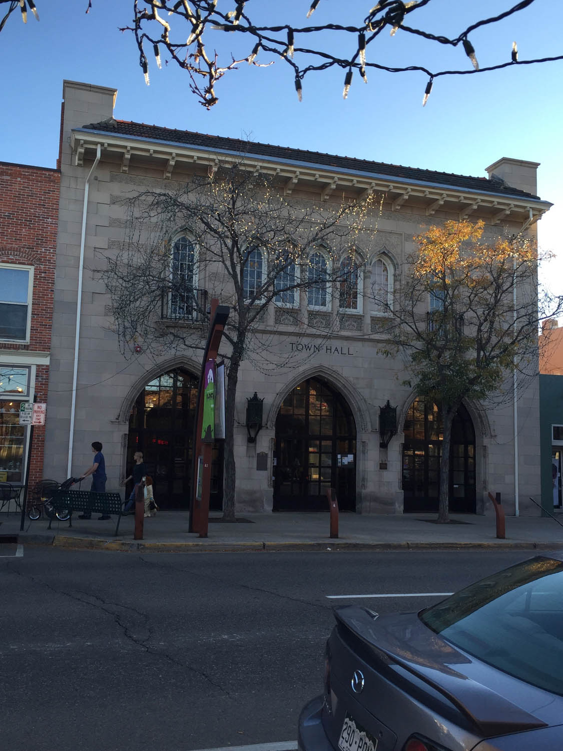 Theater still in use in historic old downtown Littleton, CO