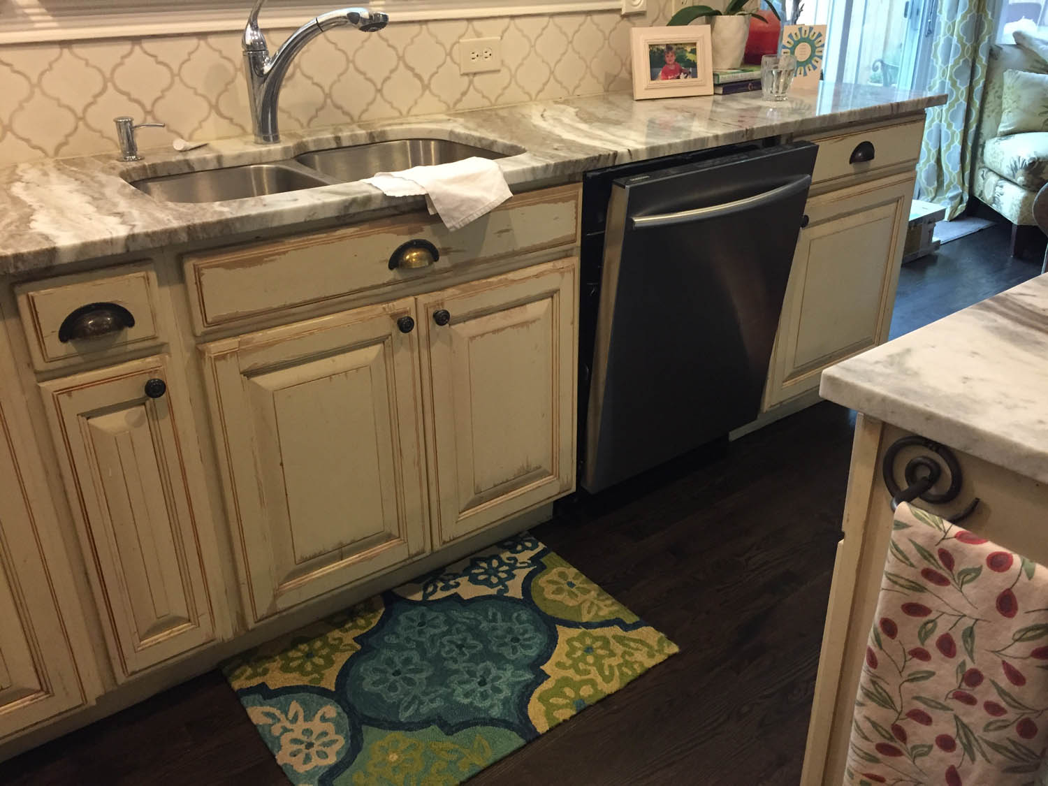 Finished kitchen remodel at Curtice Cottage.