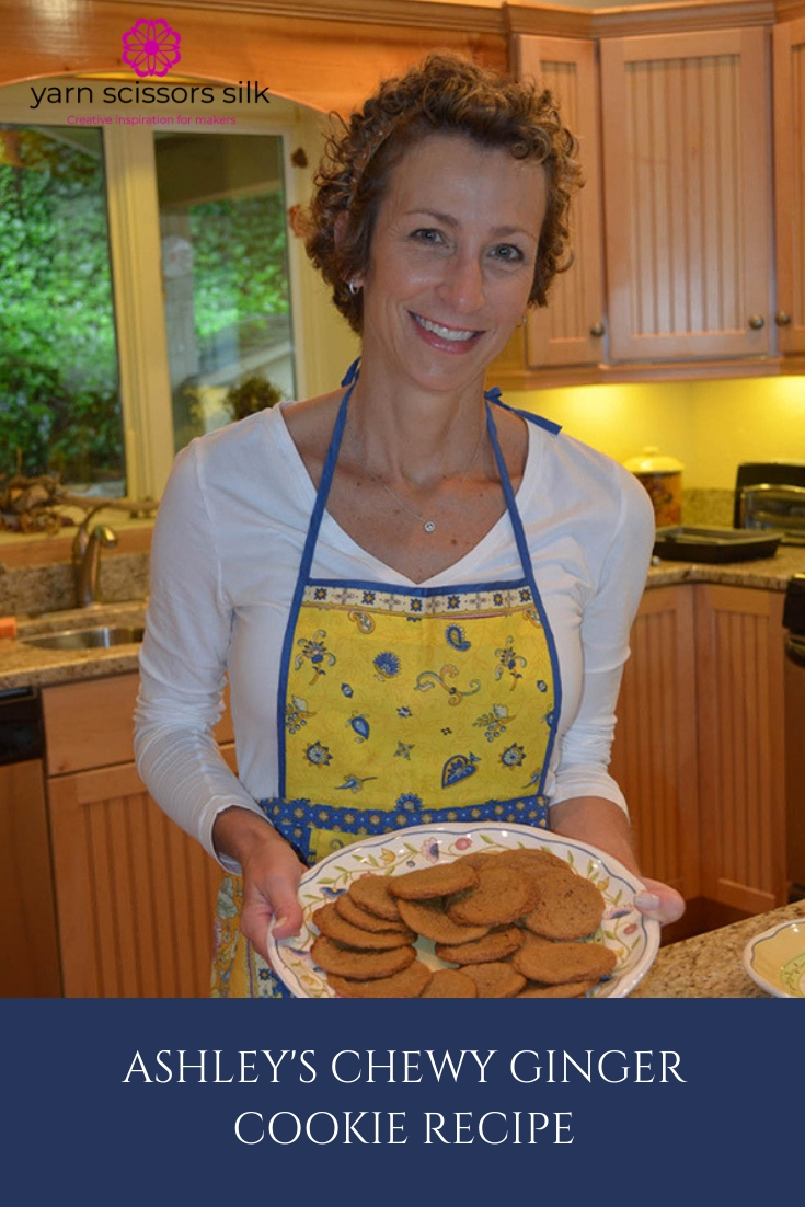 Ashley's Chewy Ginger Cookie Recipe is a sweet family tradition.