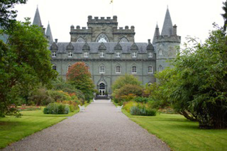 Castle along west coast of scotland