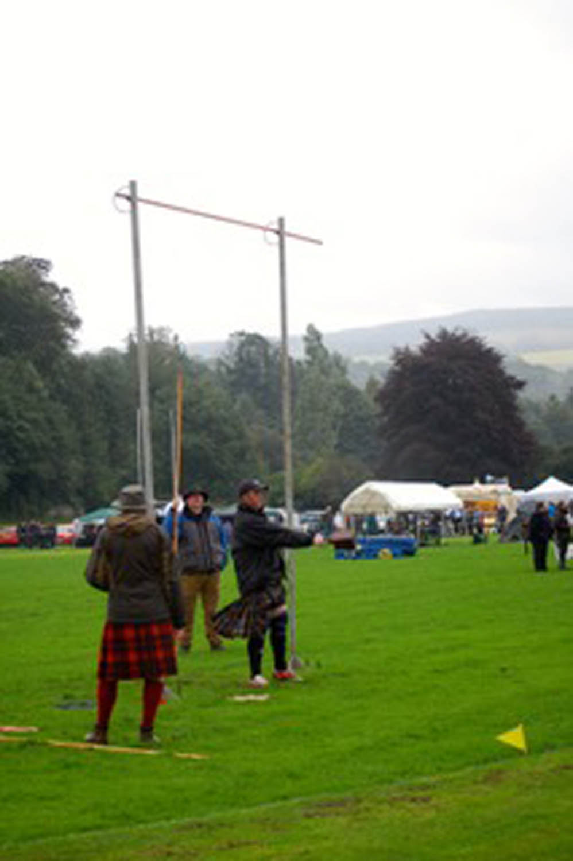 Scottish highlands festival near Carrbridge Scotland