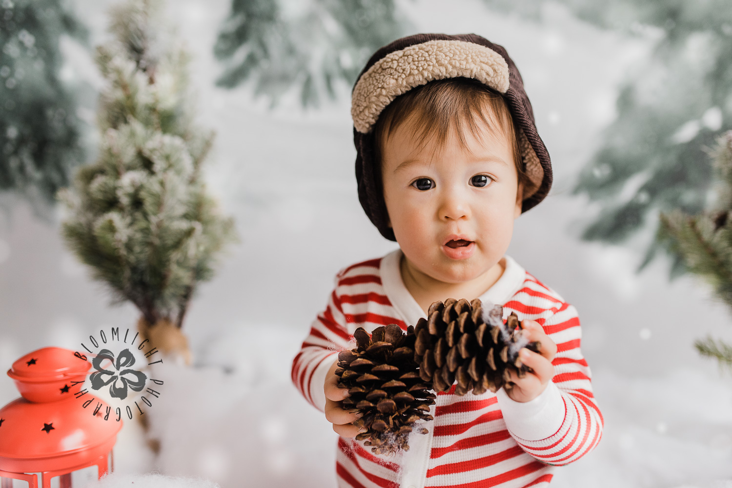 Baby photo in Christmas mini sessions in North York, Toronto