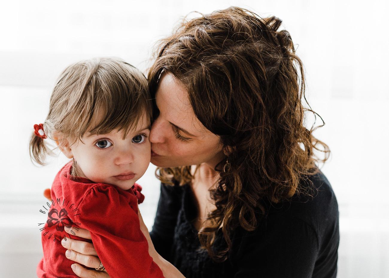 Portrait of lovely motherhood in North York, Toronto