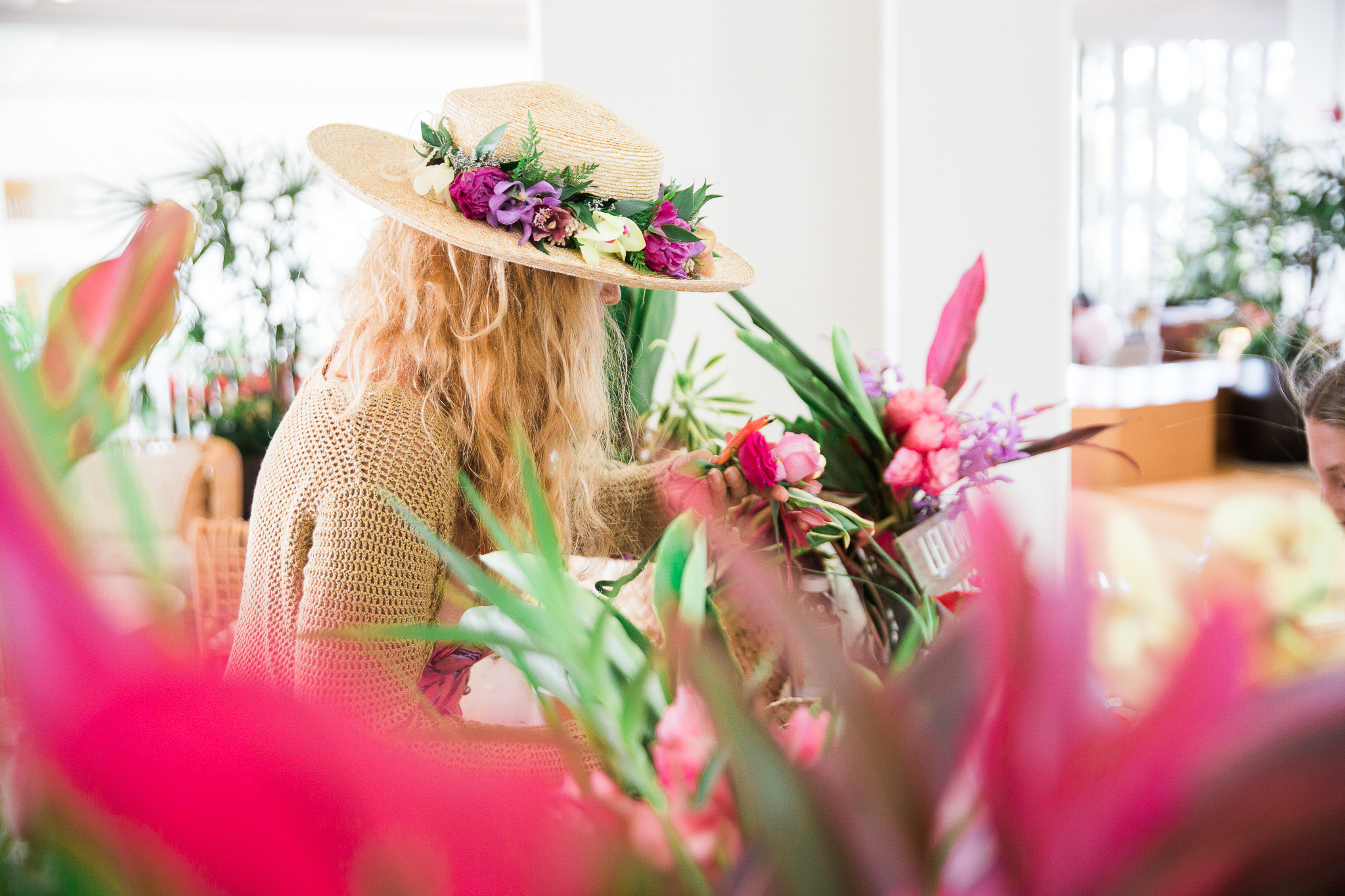 Enjoy an extensive selection of fresh local flowers and lei artfully created by Hawaiian floral artist Pamakane Pico, and design your very own haku lei (floral crown) Thursdays from 10AM-1PM at Four Seasons Resort Oahu at Ko Olina