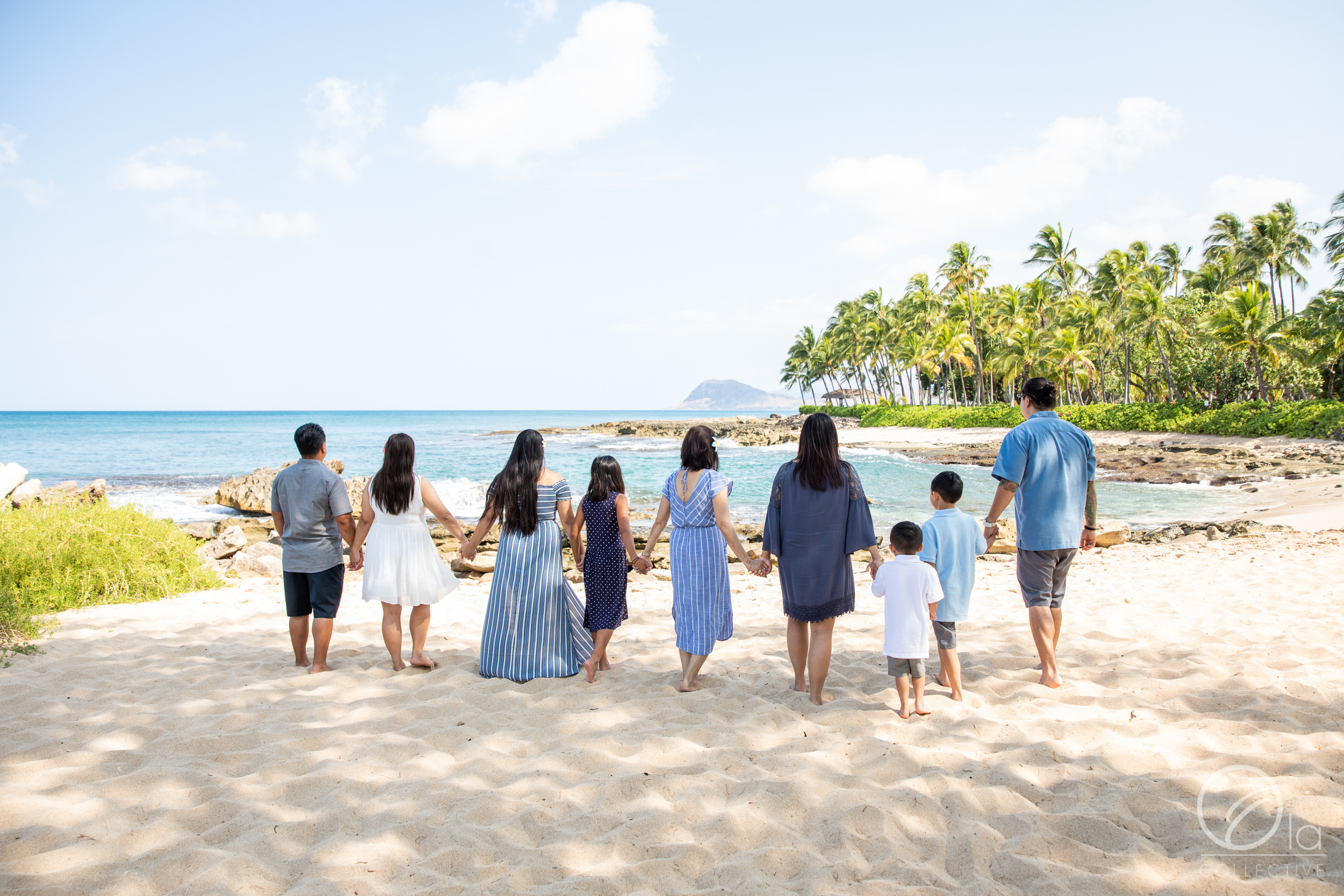 We love the way this family's color palette was coordinated and yet still unique for each person!