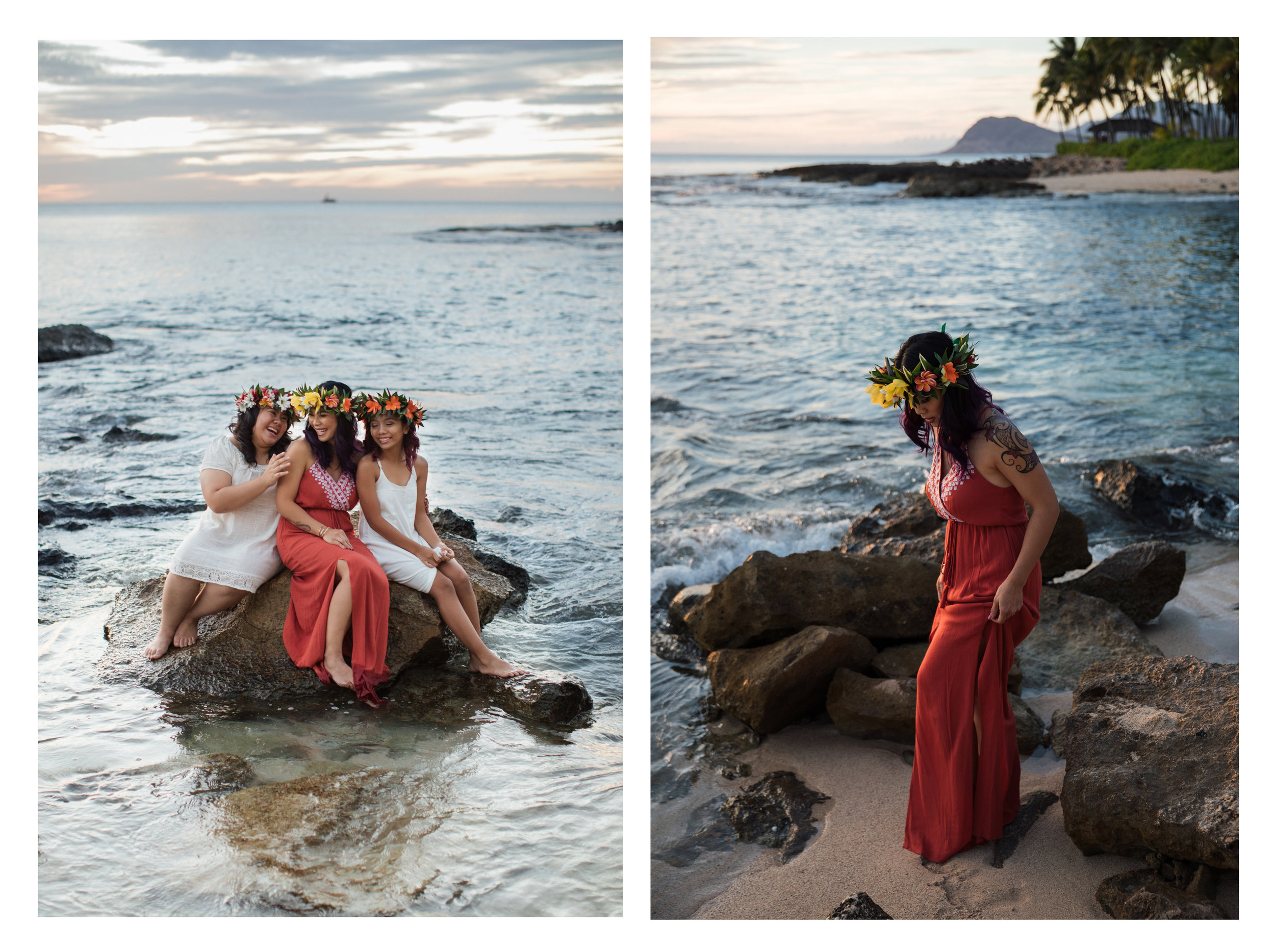 Ko Olina Mother Daughter Photography Session
