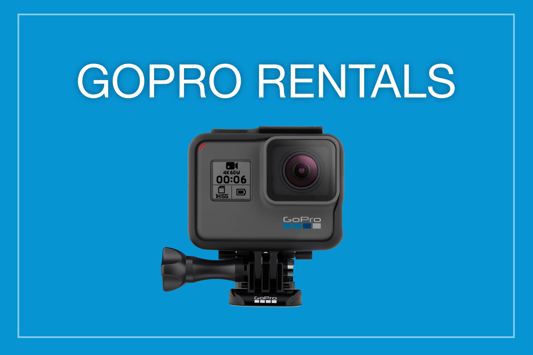 Rent a GoPro to capture your vacation