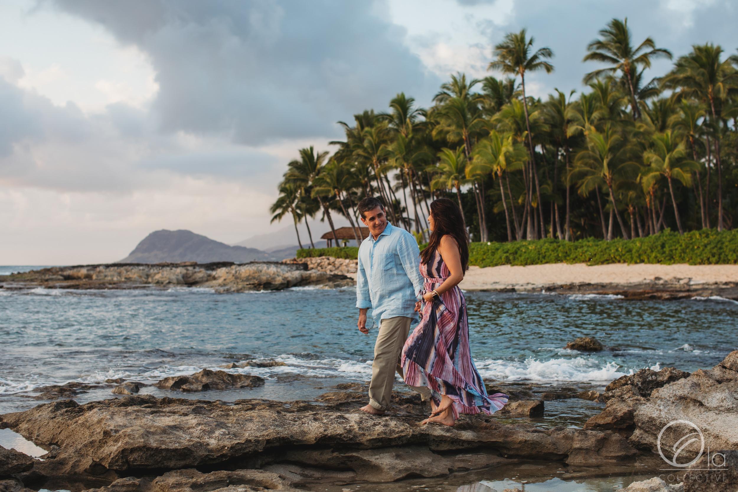 A walk in Hawaii…