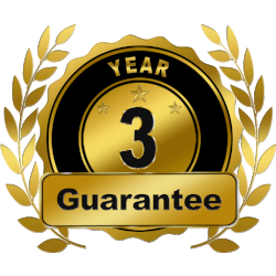 Blinds and Curtains Australia - 3 Year Manufacturers Guarantee.png