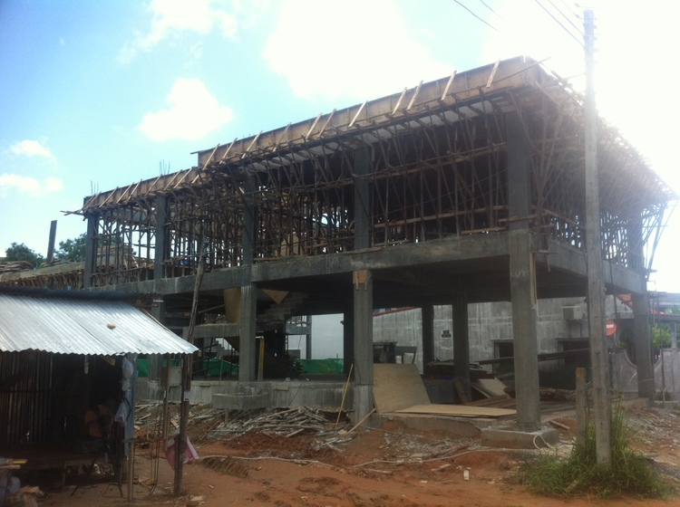 The Mike Matthews Learning Centre for the Good Shepherd, Thailand - construction