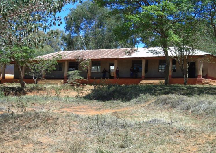 Qaloda Primary School, Tanzania - before