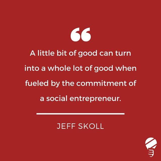 SENSA Social Entrepreneurship Quote! Happy Monday!